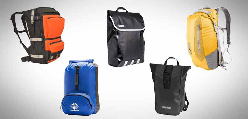 Best waterproof backpacks. Via Carryology.com