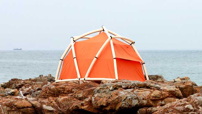 TentTube: An Inflatable Tent
