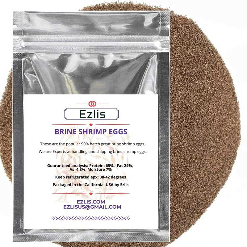 Brine Shrimp Eggs Ezlis