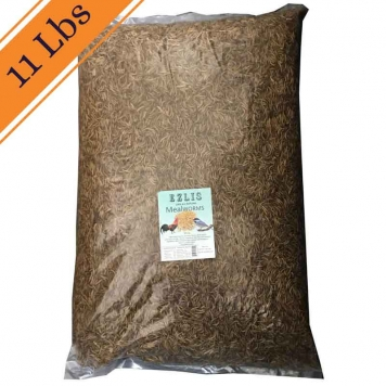 11 LBS dried mealworms Ezlis 3 800